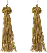 Basque A69686BA/OLIVE Knot Just Another Tassel Earring