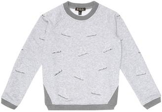 Loro Piana Kids Playtime cotton-blend sweatshirt
