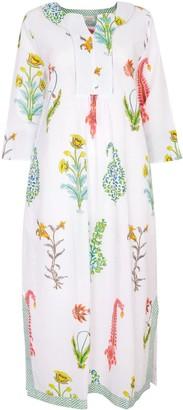 Nologo Chic Botanical Maxi - Pure Cotton - White