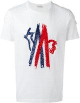 Moncler stitched logo T-shirt - men - Cotton/Nylon/Polyester - XL