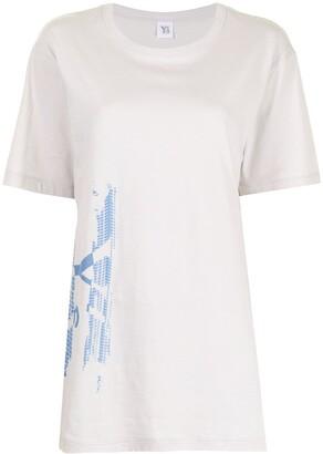 Y's logo-print short-sleeved T-shirt