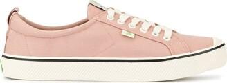 Cariuma OCA Low Stripe Rose Canvas Sneaker