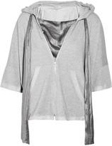 Clu Hooded french terry sweatshirt