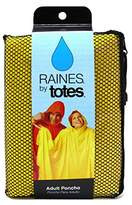 totes Raines Rain Poncho Adult Size Assorted Colors