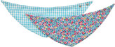 Cath Kidston Forest Ditsy Baby 2 Pack Teething Bibs