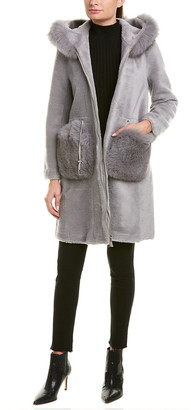 La Fiorentina Reversible Wool Coat