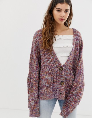Raga Danna multi knit cardigan