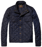 Scotch & Soda Light Padded Quilted Jacket, Navy