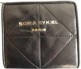 Sonia Rykiel Black Leather Purses, wallets & cases
