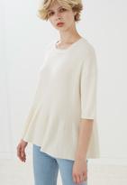 MiH Jeans Peplum Sweater