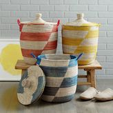 west elm Alternating Stripes Medium Baskets