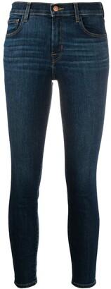 J Brand 835 Capri mid-rise cropped jeans