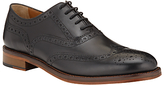 John Lewis Bentley Storm Brogue Shoes, Black
