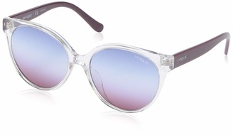 Vogue Women's VO5246SF Asian Fit Round Sunglasses