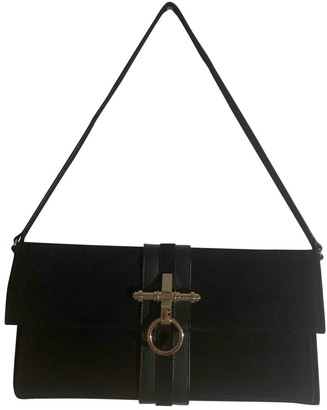 Givenchy Obsedia Black Suede Clutch bags