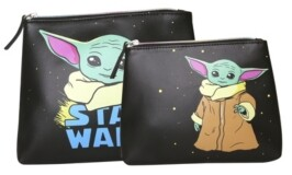 Disney Star Wars The Child Travel Pouch Set of 2