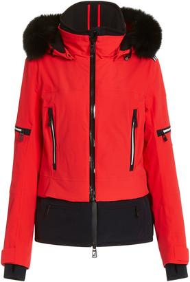 Toni Sailer Penelope Fur-Hood Nylon Ski Jacket