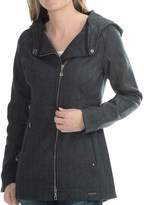 Smartwool Long Campbell Creek Hooded Jacket (For Women)