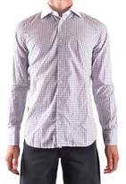 La Martina Men's White Cotton Shirt.