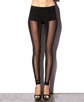 Forever 21 Vertical Mesh Leggings