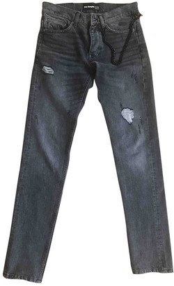The Kooples Anthracite Cotton - elasthane Jeans