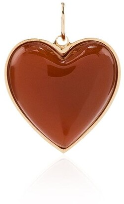 Jacquie Aiche 14kt Yellow Gold Heart Charm