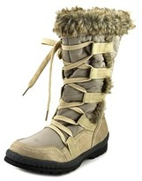 Journee Collection Pelt Women Round Toe Canvas Winter Boot.