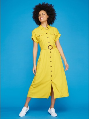 M&Co Khost Clothing midi shirt dress