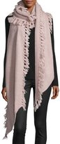 Rebecca Minkoff Asymmetric Tassel Scarf, Light Pink