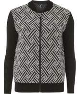 Dorothy Perkins Womens *Izabel London Contrast Bomber Jacket- Black