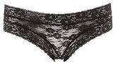 Charlotte Russe Sheer Lace-Up Cheeky Panties