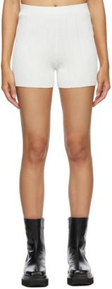 Dion Lee SSENSE Exclusive White Float Shorts