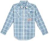 GUESS Long-Sleeve Plaid Shirt (6-16Y)