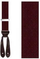 Trafalgar Men's 'Dalton' Dot Silk Suspenders