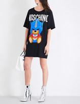 Moschino Transformers bear woven T-shirt dress