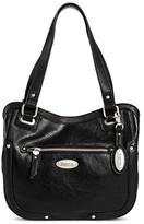 Børn Women's Leather Tote Handbag - Black