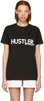 Hood by Air Black hustler T-shirt