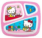 Zak Designs Zak! BPA Free Hello Kitty Meal Tray (Discontinued by Manufacturer)