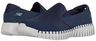 SKECHERS Performance Go Walk Smart - Vetiver (Navy/Grey) Men's Shoes