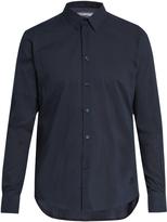 Vilebrequin Caracal button-cuff cotton-voile shirt