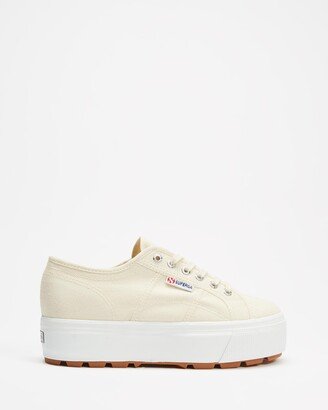 Superga Women's Neutrals Low-Tops - 2790 Cotw Tank - Women's - Size 37 at The Iconic