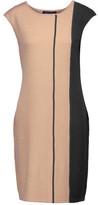 Magaschoni Two-Tone Silk-Blend Dress