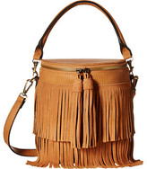 Gabriella Rocha Polina Bucket Purse with Fringe