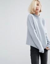 Dr. Denim High Neck Knit Sweater