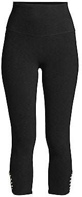Beyond Yoga Women's Cutout Cropped Active Leggings