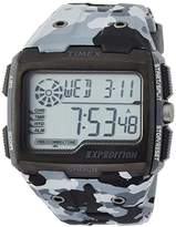 Timex Men's Grid Shock LCD Dial with a Resin Strap Watch TW4B03000