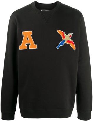 Axel Arigato Long-Sleeved Varsity Logo Jumper