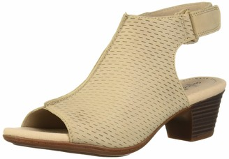 Clarks womens Valarie James Heeled Sandal