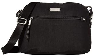 Baggallini New Classic Dome Crossbody (Black) Handbags