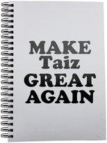 Fotomax Notebook with MAKE Taiz GREAT AGAIN